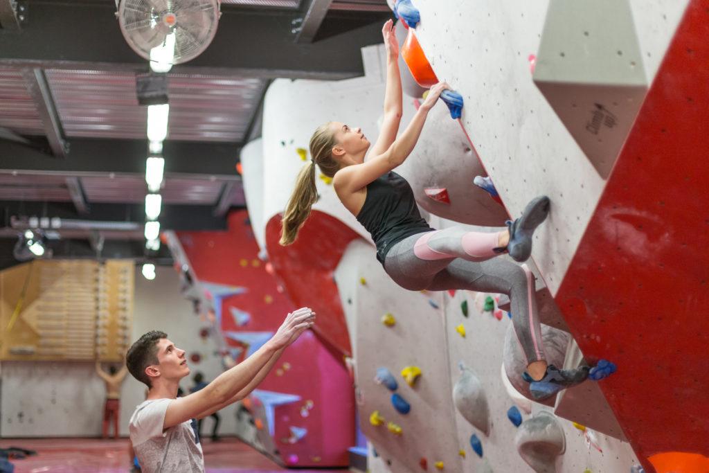 Bloc à Climb Up Aix - Bouc Bel Air