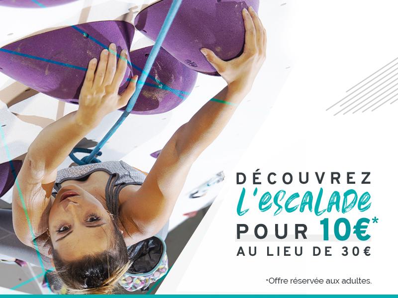 Cours découverte escalade à 10€ au lieu de 30 à Climb Up Aix-Bouc Bel Air